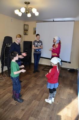 В воскресной школе «Зернышки» начала работу студия бального танца