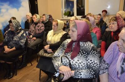 При храме Серафима Саровского в Пензе состоялось заседание клуба «Жены-мироносицы»