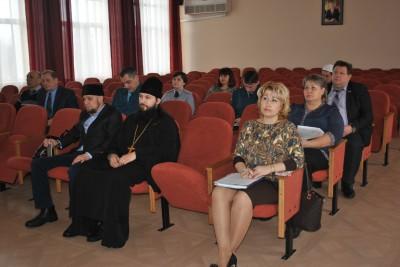 Благочинный Каменского округа принял участие в работе антитеррористической комиссии