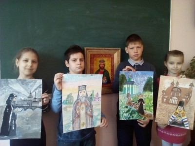 Воспитанники воскресной школы «София — Премудрость Божия» приняли участие во II Всероссийском конкурсе «Русь святая»