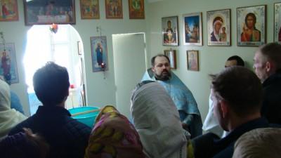 Молебен в наркологическом реабилитационном центре с. Русский Ишим