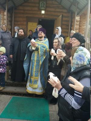 Зареченцы отпраздновали Благовещение Пресвятой Богородицы