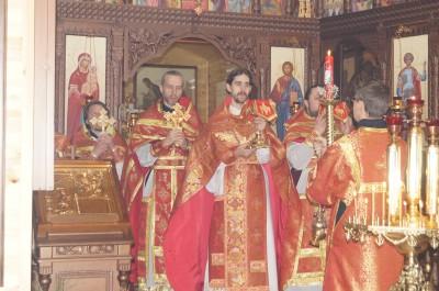 Состоялось соборное служение духовенства Бессоновского округа