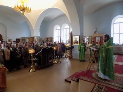 Празднование Входа Господня во Иерусалим в селе Трофимовка Бессоновского района