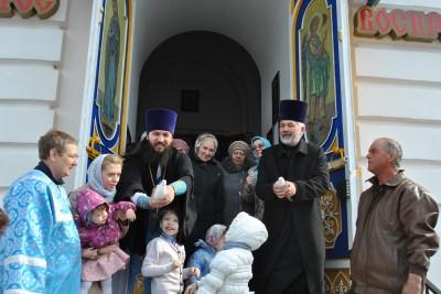 Празднование Благовещения Пресвятой Богородицы в Каменском благочинии