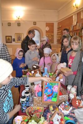 Благотворительная ярмарка прошла в Золотаревке