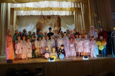 Пасхальный фестиваль воскресных школ прошел в Бессоновке