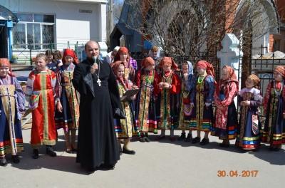 Праздничный концерт в Неделю святых жен-мироносиц в Городище