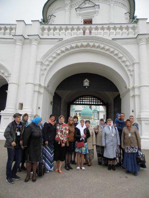 Пензенские паломники посетили святыни Московской области