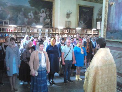 В Успенском кафедральном соборе состоялся общегородской молебен об устроении семьи