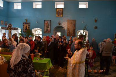 Покровский храм посетили воспитанники двух детских садов города Городище