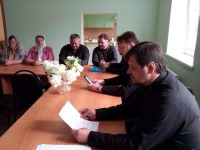 При Никольском храме в Терновке прошел семинар на тему: «Православная семья»
