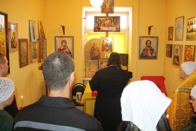 Священник посетил осужденных, содержащихся в СИЗО №1