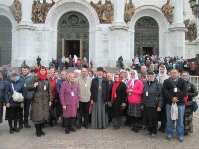 Пензенские паломники поклонились святым мощам Николая Чудотворца в храме Христа Спасителя