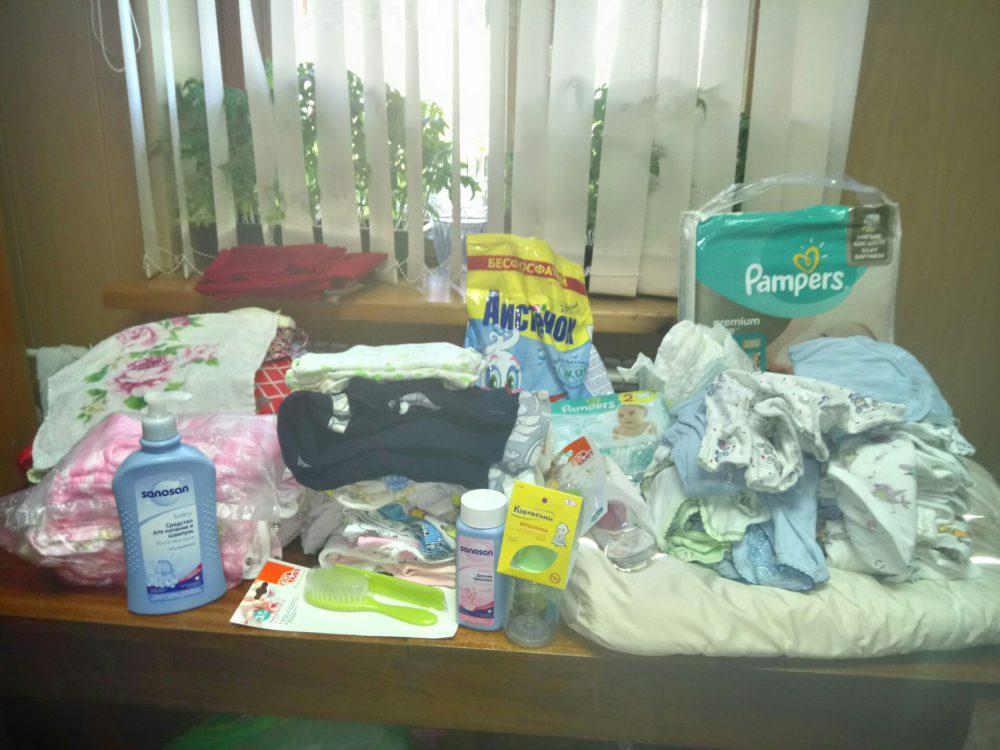 В рамках работы Центра поддержки семьи «Обернитесь» в Каменском благочинии организован сбор помощи для семьи Корябкиных