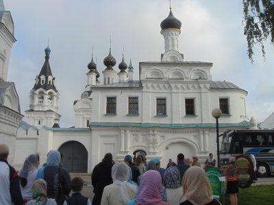 Прихожане Никольского храма г. Пензы совершили паломническую поездку в Муром и Дивеево