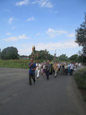 Пензенские паломники приняли участие в крестном ходе в день памяти Иоанна Оленевского