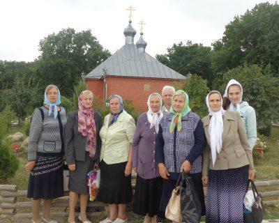 Паломники из Каменского благочиния посетили Казанскую Алексиево-Сергиевскую пустынь