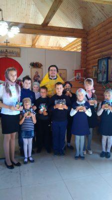В храме Архистратига Божия Михаила села Большая Еланьоткрылась воскресная школа