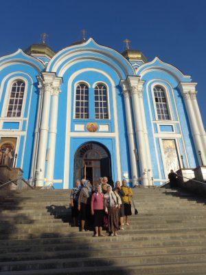 Каменские паломники посетили Задонский Рождество-Богородицкий мужской монастырь