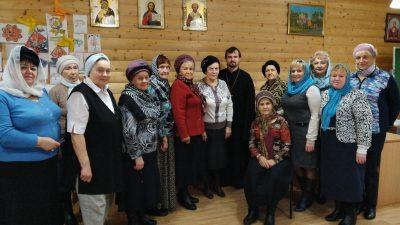 Никольский храм в Ахунах посетили гости из Октябрьского района Пензы