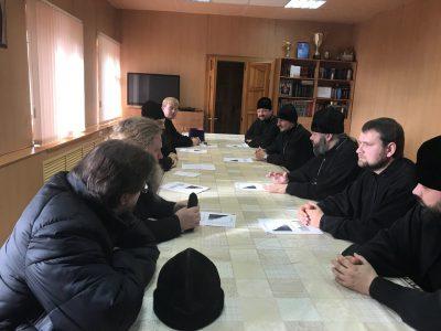 Состоялось собрание духовенства Каменского районного благочиния