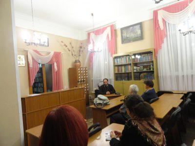 В рамках православного лектория состоялась встреча горожан со священником Виталием Зориным