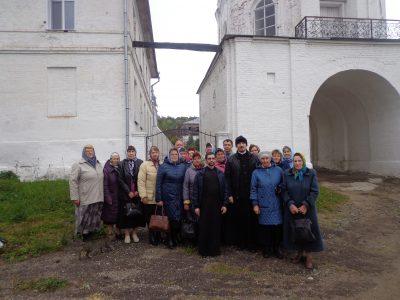 Прихожане Сергиевской церкви с. Головинщино совершили паломничество по монастырям Пензенской митрополии