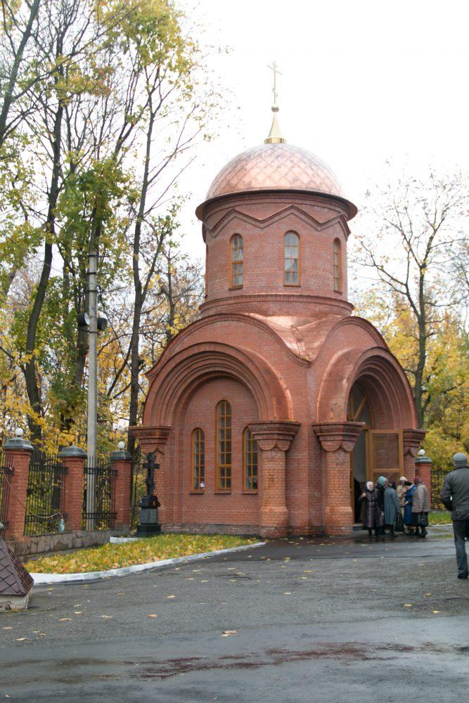 В день празднования Собора святителей Московских митрополит Серафим совершил освящение храма-усыпальницы в честь великомученика Димитрия Солунского