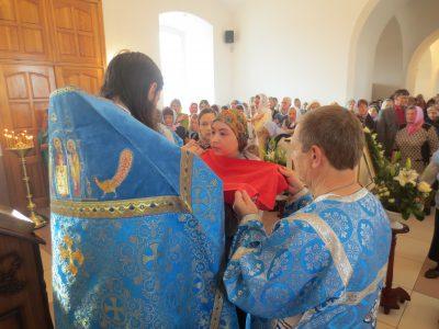 Праздник Покрова Пресвятой Богородицы в Димитриевском храме г. Каменки