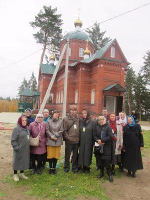 В праздник Покрова Пресвятой Богородицы пензенские паломники посетили Покровский женский монастырь на горе Шихан