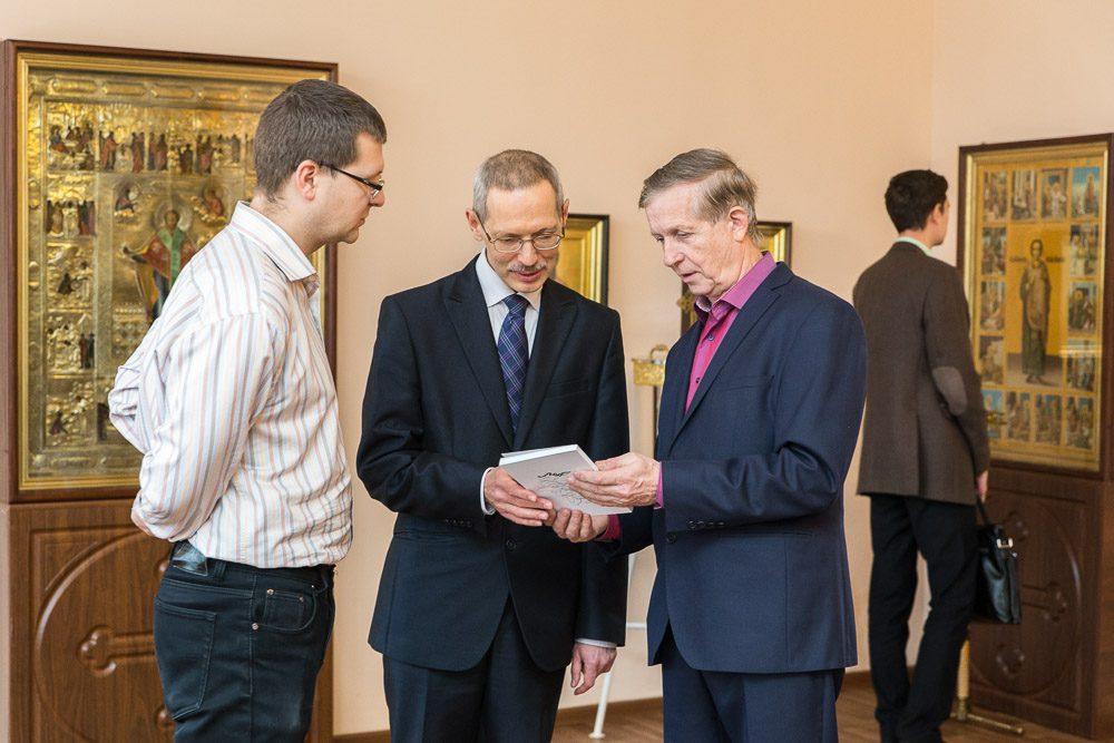 В Пензенской духовной семинарии состоялась встреча с Михаилом Витальевичем Шкаровским