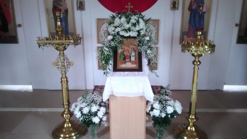 Престольный праздник в храме в честь Архистратига Михаила с. Большая Елань