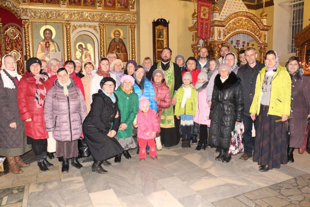 Паломническая поездка прихожан храма блаженной Ксении Петербургской при Детской областной больнице в Соловцовку