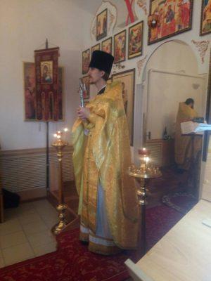 Празднование дня памяти святителя Тихона, патриарха Всероссийского, в селе Вазерки