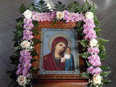 Празднование Казанской иконе Божией Матери в Никольском храме г. Пензы