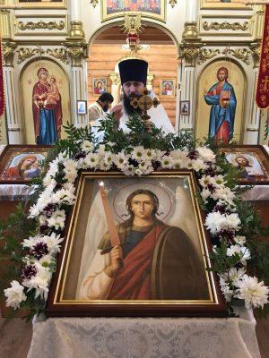 Престольный праздник в Михайло-Архангельской церкви села Кочетовка Каменского района