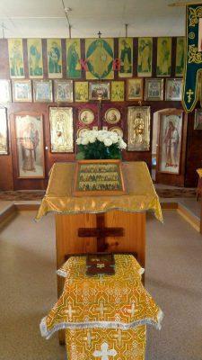 Празднование дня памяти святителя Германа Казанского во Введенском молитвенном доме с. Чемодановка