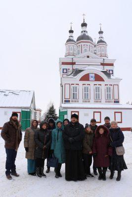 Паломническая поездка православной общины Глухих в Наровчат