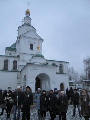 Пензенский паломники посетили святые места города Москвы
