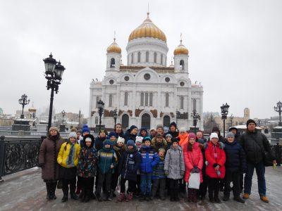 Паломническая поездка воспитанников воскресных школ в Москву