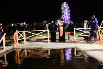 Крещение Господне отметили в Пензенской епархии