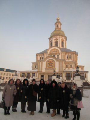 Паломники посетили село Дивеево
