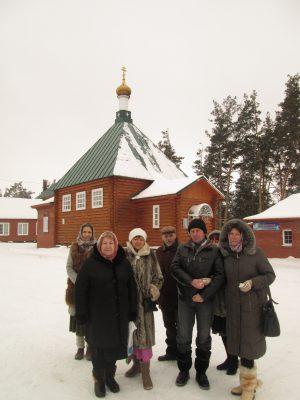 Пензенские паломники посетили Покровский Шиханский женский монастырь