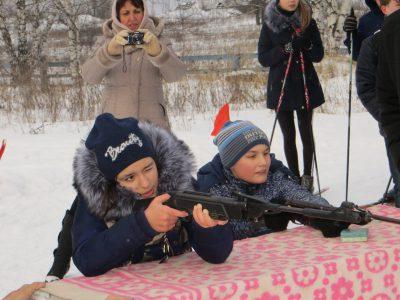 В селе Дигилевка состоялся турнир по биатлону