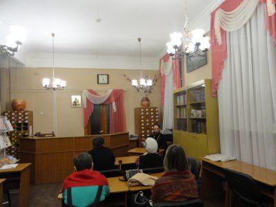 В Пензе в рамках православного лектория состоялась встреча со священником Виталием Зориным