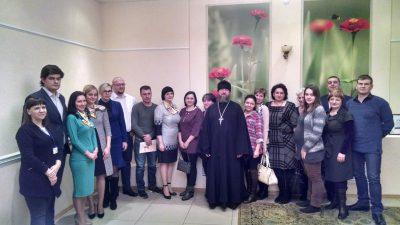 Священнослужитель принял участие в круглом столе, посвященном демографическим проблемам молодых семей Пензенской области