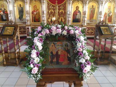 Празднование Сретения Господня в Никольском храме в Терновке