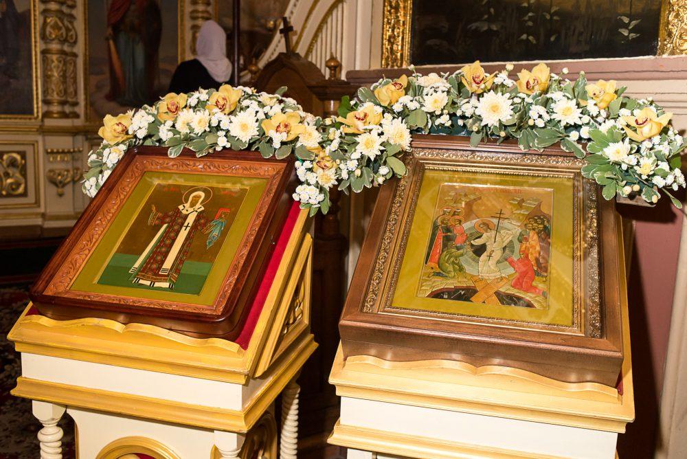 В канун Недели Торжества Православия митрополит Серафим совершил всенощное бдение в Успенском кафедральном соборе