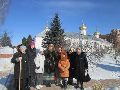 Пензенские паломники посетили Свято-Троицкий мужской монастырь в селе Большое Чуфарово республики Мордовия